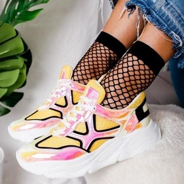 Limoya Sneakers Sarı